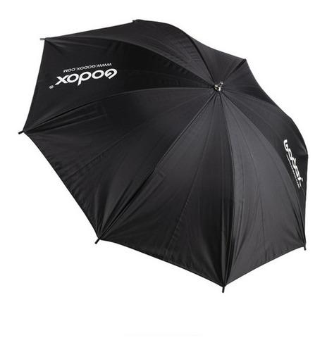 sombrilla/paraguas godox 101 cm  negro/interior blanco