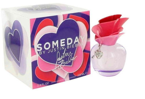 someday dama justin bieber 100 ml edp * envío gratis!!