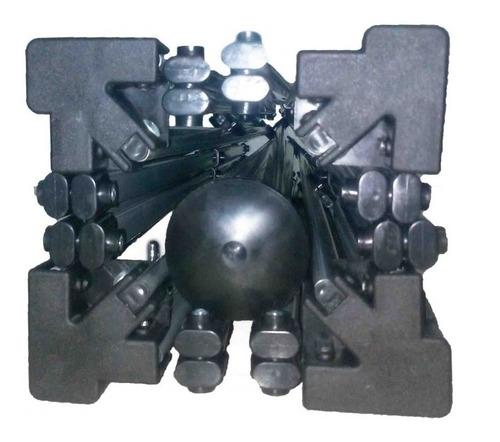 somente estrutura em aço articulada para gazebo 3x3
