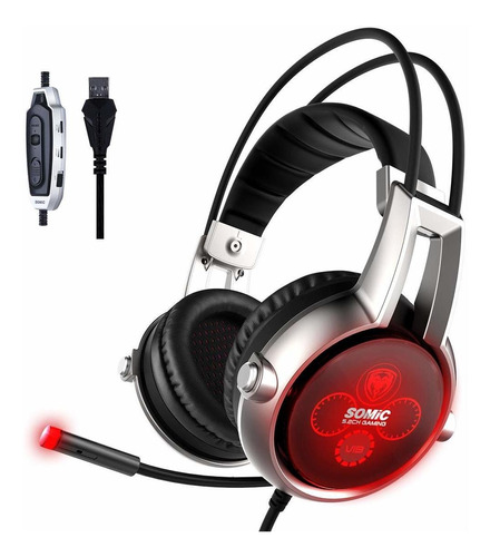 somic e95 x usb auriculares 5,2 sonido surround físico re