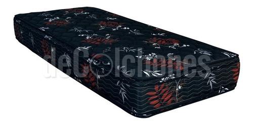 somier 1 1/2 marinero cama nido doble colchon inducol pyxis