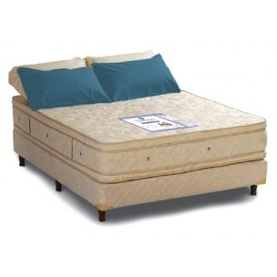 sommier 190x160 resortes elite con pillow doble