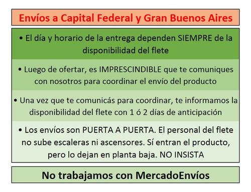 sommier 2 plazas 140x190x31 base de somier reforzada luna del sur garantía 1 año!!! envío capital federal gratis!!!