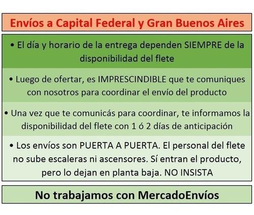 sommier 2 plazas 140x190x51 alta densidad garantía 1 año!!! envío capital federal y gba gratis!!! cuotas sin interés!!!
