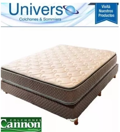 42138f03715 Sommier Y Colchón Cannon Exclusive Con Pillow 200x200 King ...