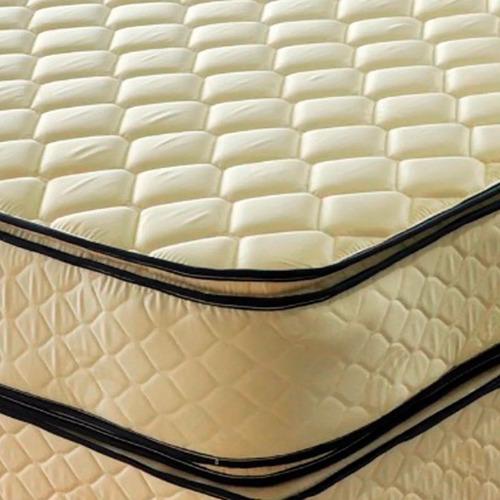 sommier piero bahia pillow 190 x 160 queen size resortes