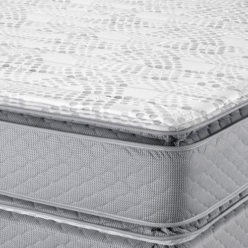 sommier piero montreaux pillow 200 x 160 resortes pocket