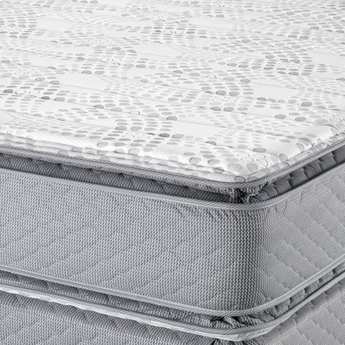 sommier piero montreaux  pillow top 200 x 180 resorte pocket