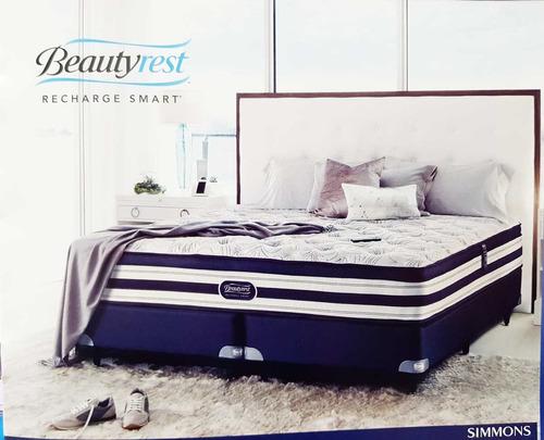 sommier simmons beautyrest smart elegance 1,60 x 2,00.mt.