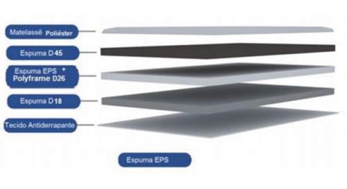sommier somier 2 plazas espuma alta densidad excelsior 1.40