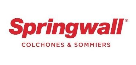sommier springwall 129 baulera + colchón 303 king 180 x 200