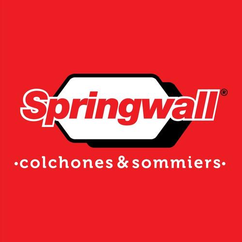 sommier springwall mm129r 090x200x2 + colchón mcp314 180x200