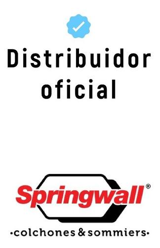 sommier springwall roomy 140 x 190 con baulera para guardar!