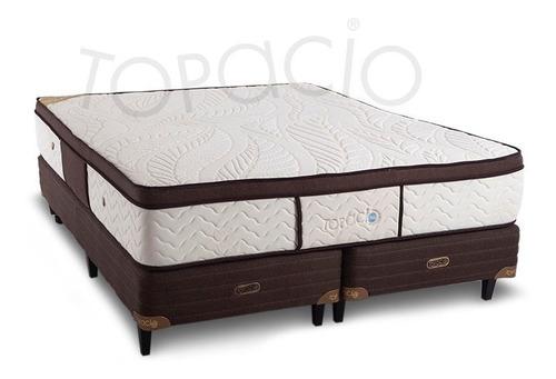 sommier topacio 3g tahití c/pillow viscoelástico 200 x 200