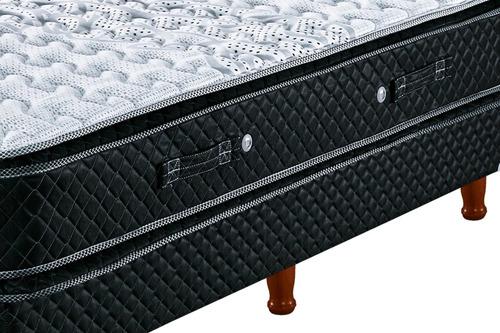 sommier y colchon cannon® doral pillow 180x200 + 2 almohadas
