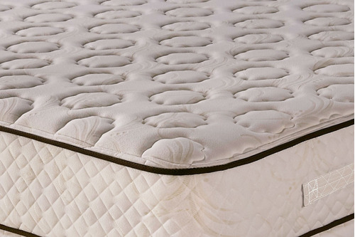 sommier y colchón cannon sublime king size 200x200 resortes