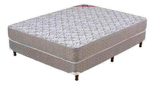 sommier y colchón de espuma piero parma 190 x 140 cm