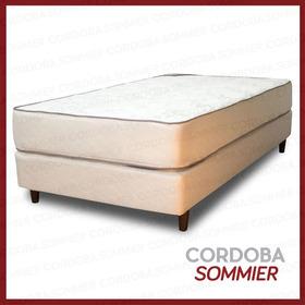 Sommier Y Colchón Dorado 130 X 190 Cm. Flexigom