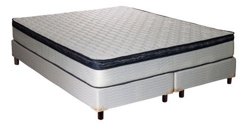 sommier y colchón inducol alanis king 180x200 resorte
