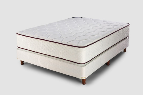 sommier y colchón piero gravita king 200x200 resortes pocket