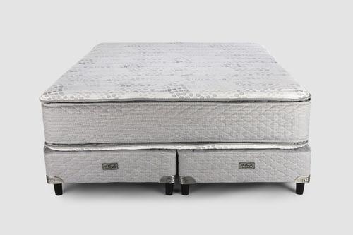 sommier y colchón piero montreaux pillow king 200x180