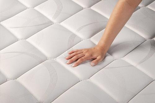 sommier y colchón piero namasté pillow top 2 plazas 190x140