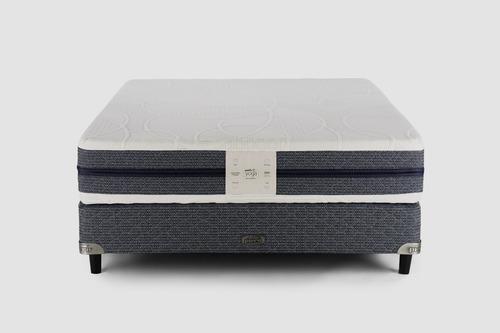 sommier y colchón piero yoga 2 plazas 190x140 alta densidad
