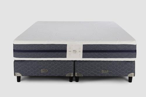 sommier y colchón piero yoga king 200x200 alta densidad