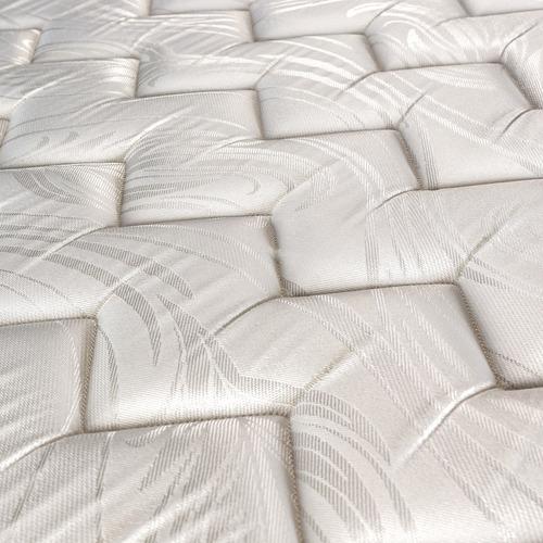 sommier y colchón sealy linen queen 160x200 resortes