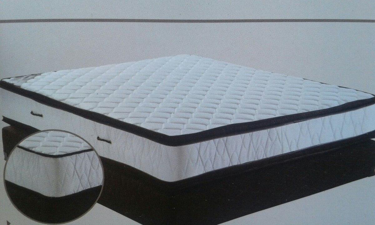 Sommiérs 2p 1/2 Espuma Soporta 2 Personas 100kg 2 Pillow - $ 15.609 ...