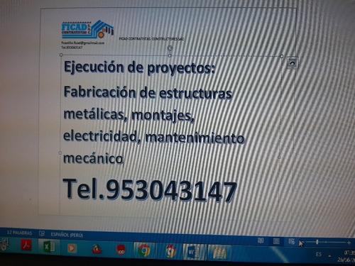 somos fabricantes de productos metalicos