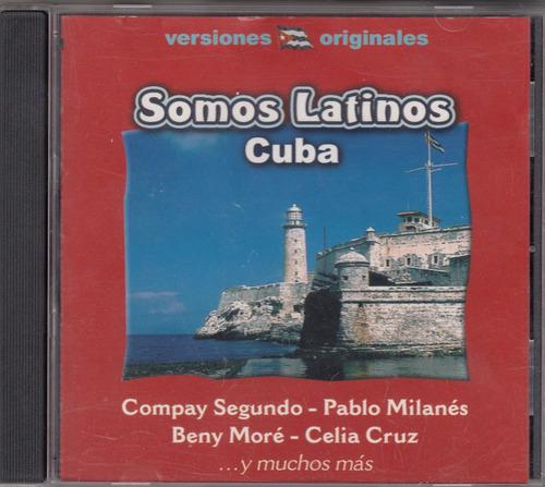 somos latinos - cuba cd original usado