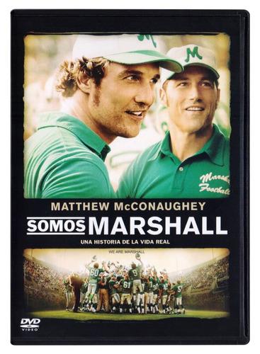 somos marshall matthew mcconaughey pelicula dvd