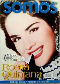 Somos Rosita Quintana Vida Cine Radio Musica Teatro Tele