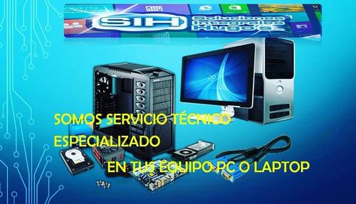 somos servicio técnico en reparación pc y laptop