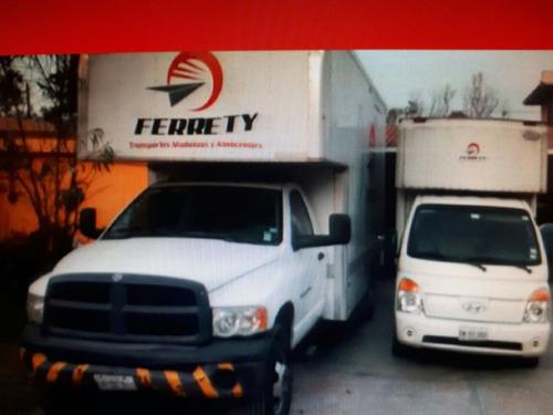 somos tu mejor opcion en transporte y mudanzas ferrety