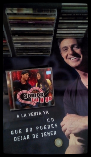 somos tu y yo - cd  original  - un tesoro musical