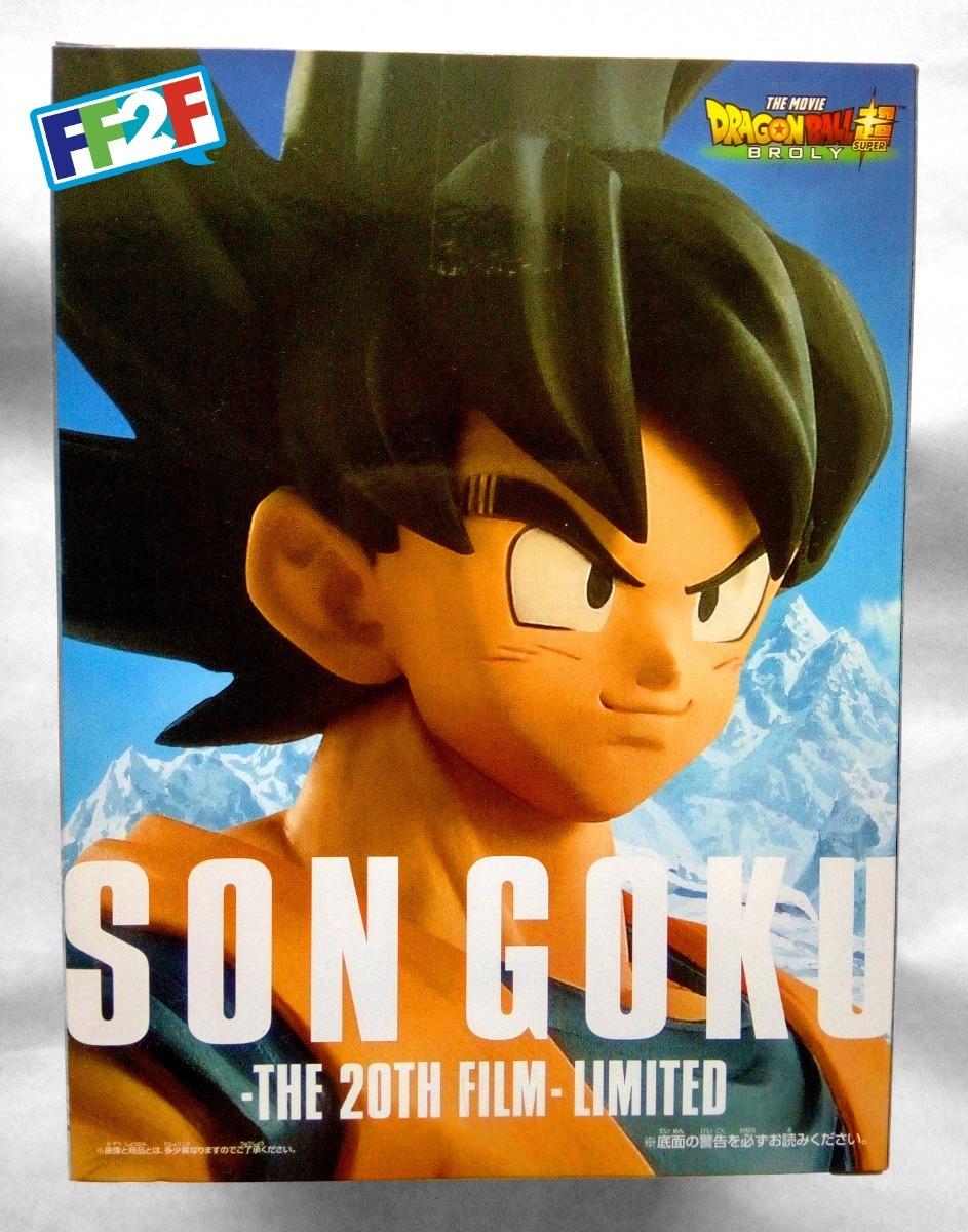 The 20th Film Dragon Ball Super the Movie Goku Limited Edition BANPRESTO