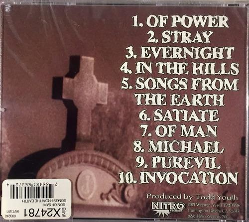 son of sam - songs from the earth - cd importado lacrado