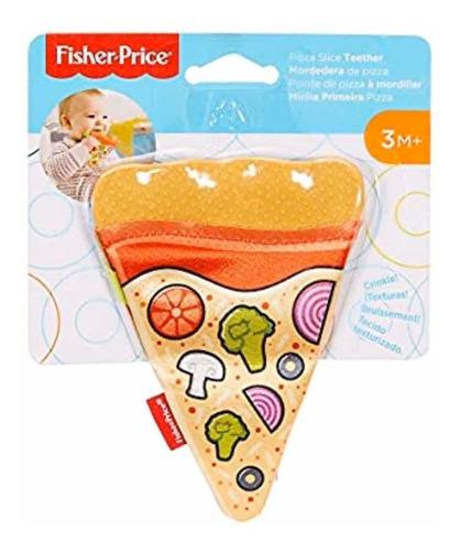 sonajas y mordederas fisher-price mordedera de pizza