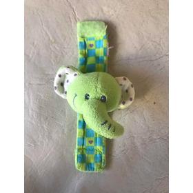 Sonajero Bebé Pulsera Elefante