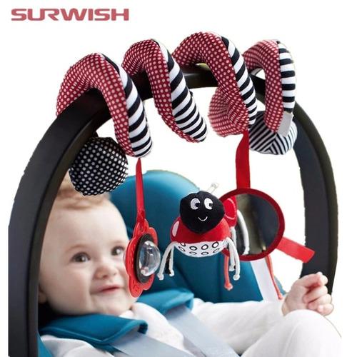 sonajero en espiral para bebés
