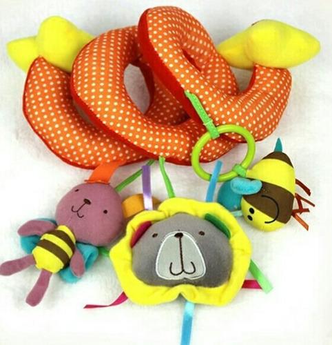 sonajero espiral juguete para bebés
