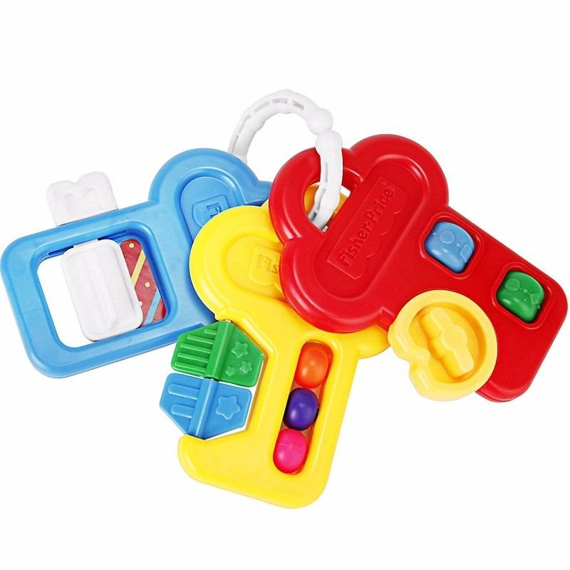 b7c3f045a sonajero llaves de bebe fisher price con juegos multicolor. Cargando zoom.