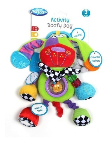 sonajero mordillo activity doofy dog playgro