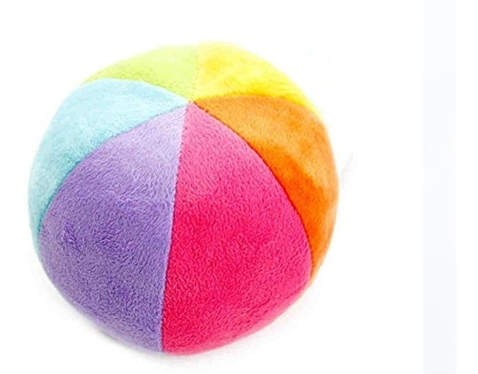 Colores Bebe.Sonajero Pelota Tela Para Bebe Varios Colores
