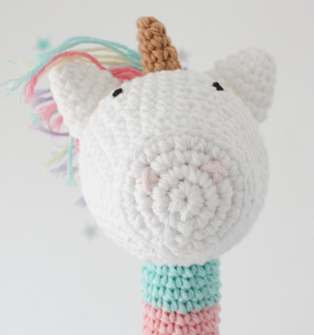 DIY Unicornio amigurumi - Patrones gratis | 1129x1056