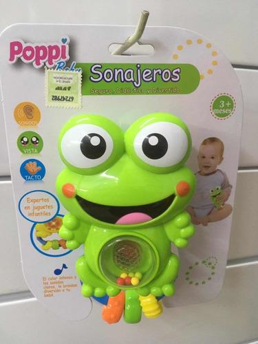 sonajeros bebé animales con luz y sonido july toys