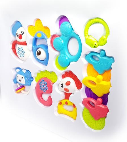 sonajeros bebe baby shower regalo perfecto 7 piezas