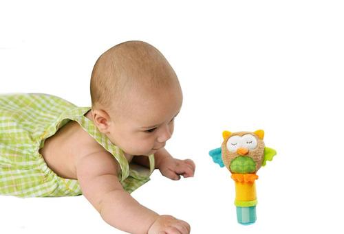 sonajeros de felpa para estimular al bebé